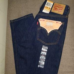 Levi's 501 Original straight leg button fly 25x32
